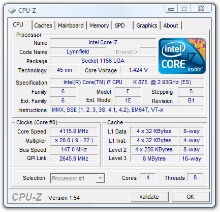 Intel Core i5-655K Overclock