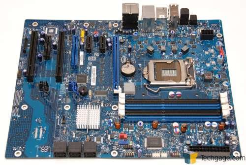 I/P: Intel DP55WG + Core i5 650 + 2x2GB DDR3 + Gelid
