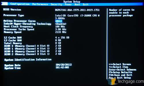 Intel DP67BG BIOS
