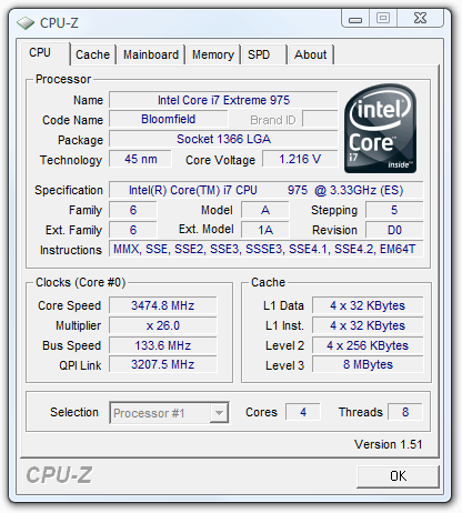 Intel Core i7-975 Extreme Edition – Techgage