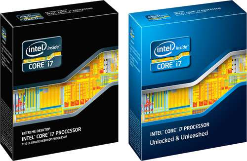 Intel Sandy Bridge-E Box Art