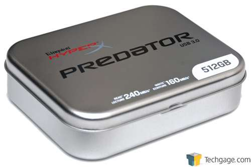 Kingston DataTraveler HyperX Predator 512GB Flash Drive