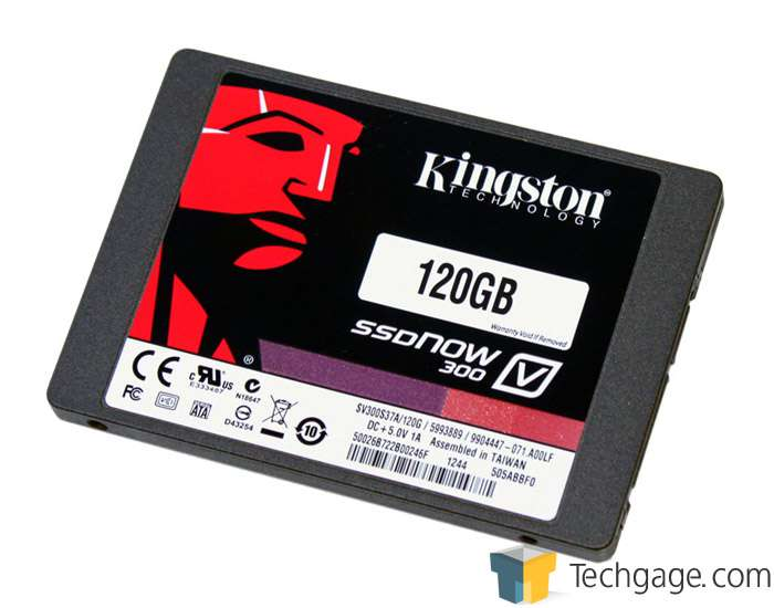 Kingston SSDNow V300 120GB SSD Review – Techgage