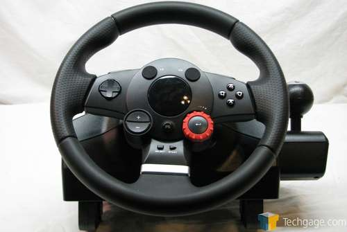 Volante Logitech GT driving force