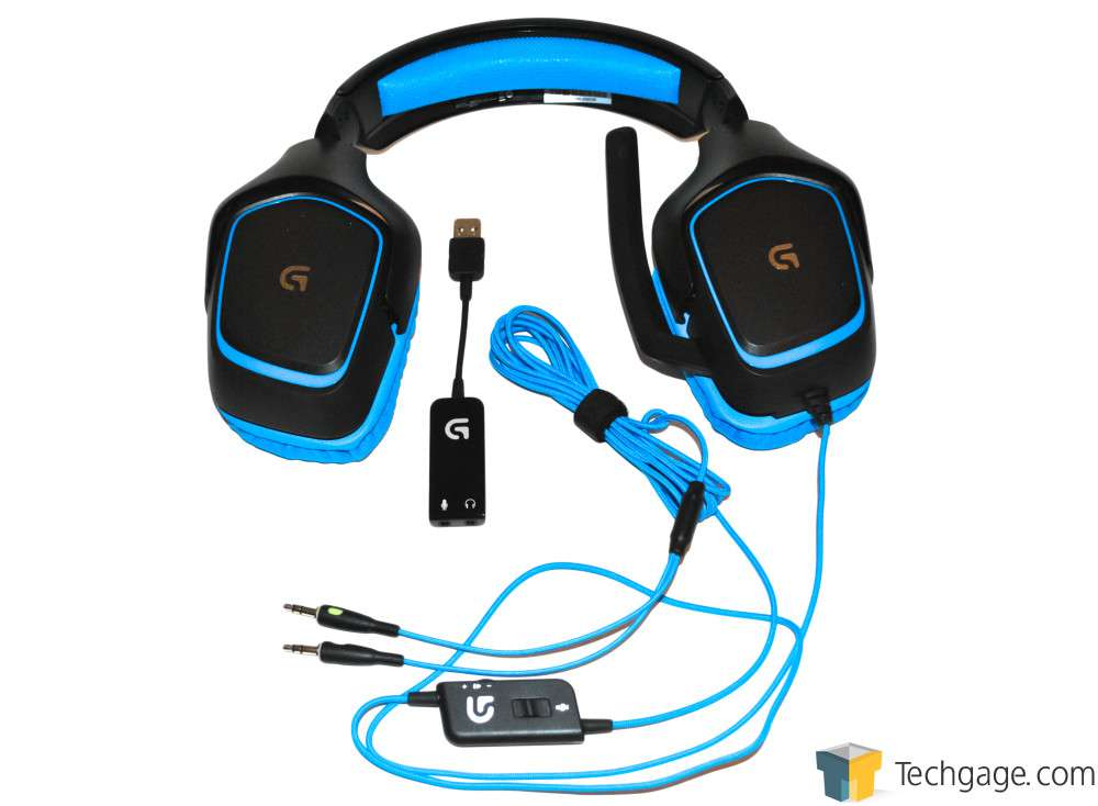 7225a240395 Logitech G430 7.1 Surround Sound Gaming Headset Review – Techgage