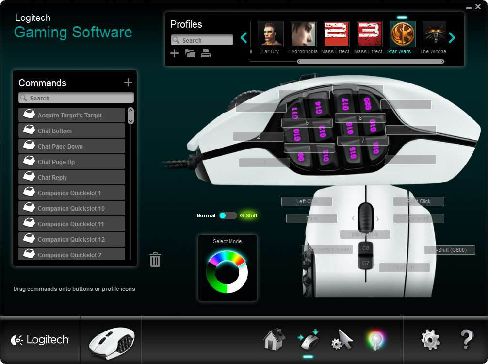 Logitech G600 MMO Gaming Mouse Review – Techgage