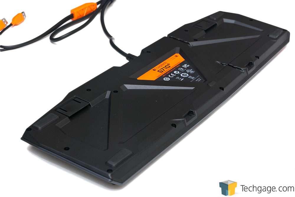 Techgage Image - Logitech G710 Mechanical Gaming Keyboard
