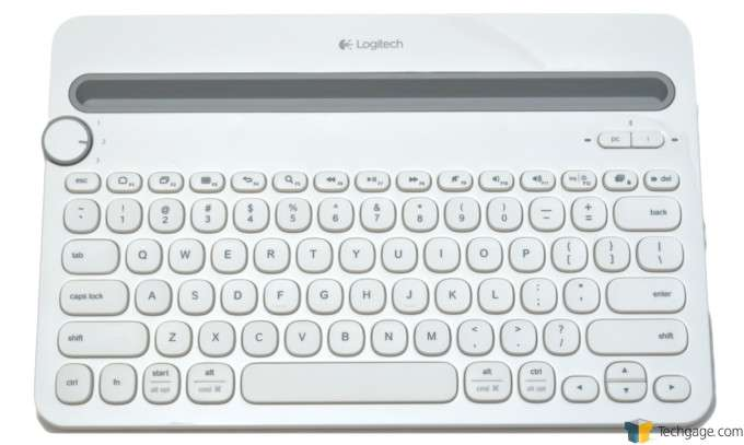Logitech K480 Bluetooth Keyboard - Overview