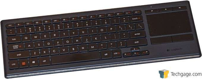 Logitech Illuminated Livingroom Keyboard K830 - Overview