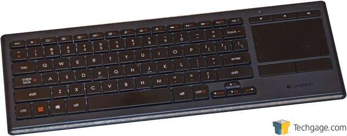 Logitech Illuminated Living Room Keyboard K830 Review – Techgage