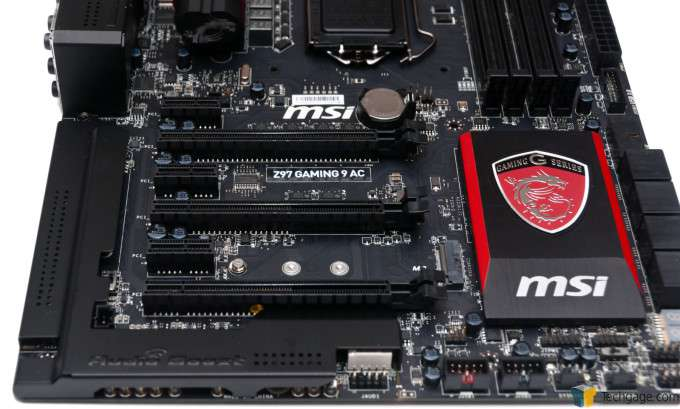 MSI Z97 Gaming 9 AC - Expansion Slots