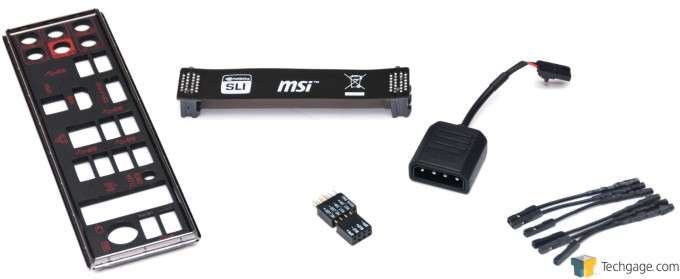 MSI Z97 Gaming 9 AC - Included Accessories