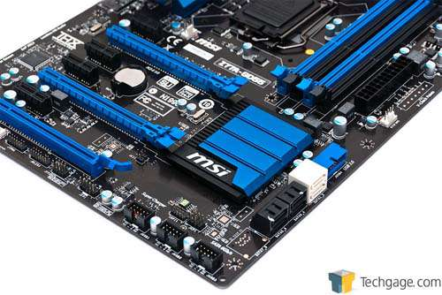 MSI Z77A-GD55 Motherboard