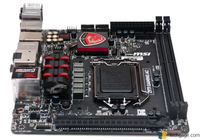 MSI Z97I Gaming AC - Board Overview