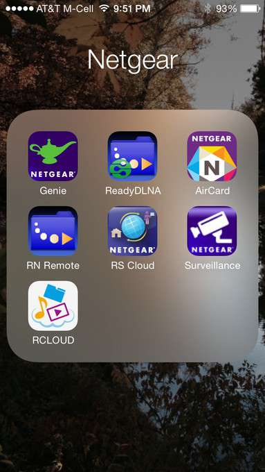 NETGEAR ReadyNAS 102 - Software, Mobile App