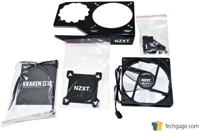 NZXT Kraken - Package Contents