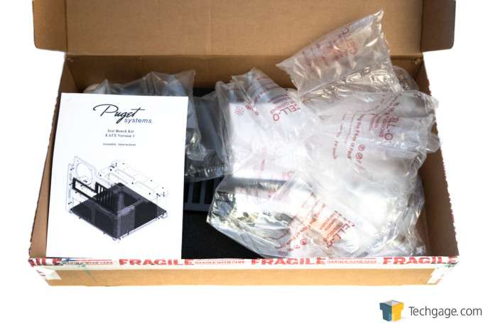 Puget Systems Test Bench Kit EATX Version 1 - Unboxing