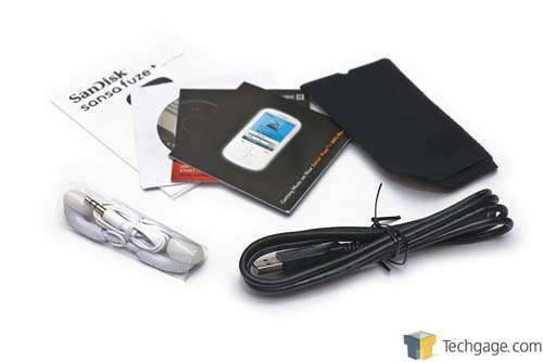SanDisk Sansa Clip Zip and Fuze+ Media Players