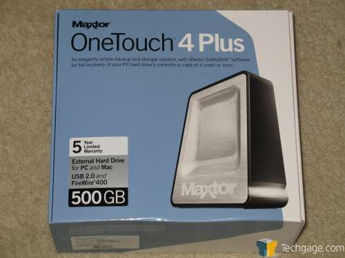 Maxtor one touch vista