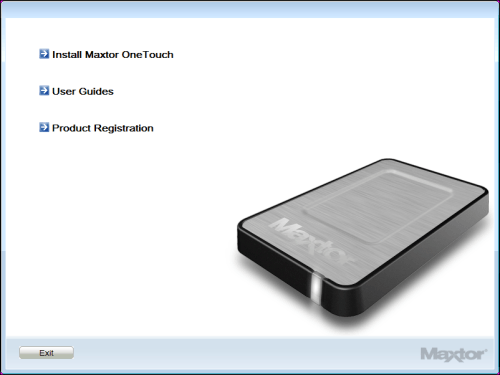 MAXTOR ONETOUCH 4 MINI SOFTWARE DRIVERS FOR WINDOWS VISTA