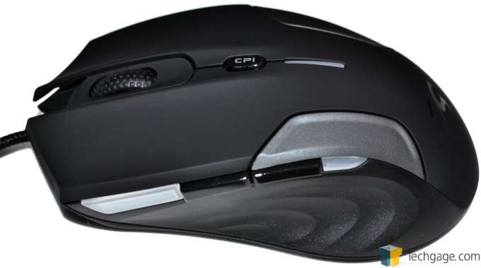Sentey Nebulus Gaming Mouse - Left Side
