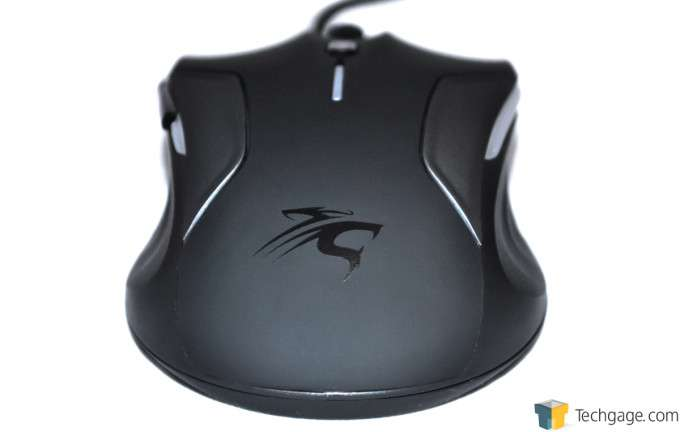 Sentey Nebulus Gaming Mouse - Rear