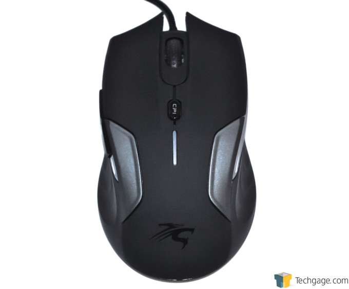 Sentey Nebulus Gaming Mouse - Top