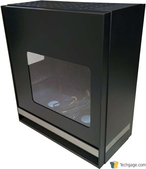 SilverStone Fortress FT05 Mid-Tower Chassis - Profile Shot