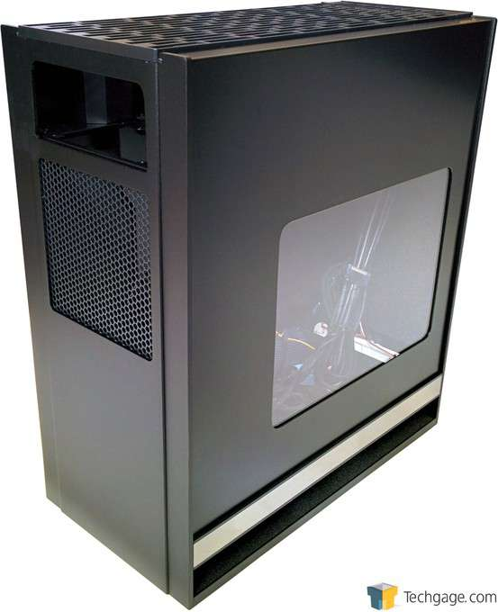 SilverStone Fortress FT05 Mid-Tower Chassis - Back Angle