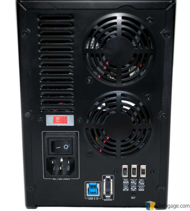 Teratrend TS432U 4-bay RAID Enclosure