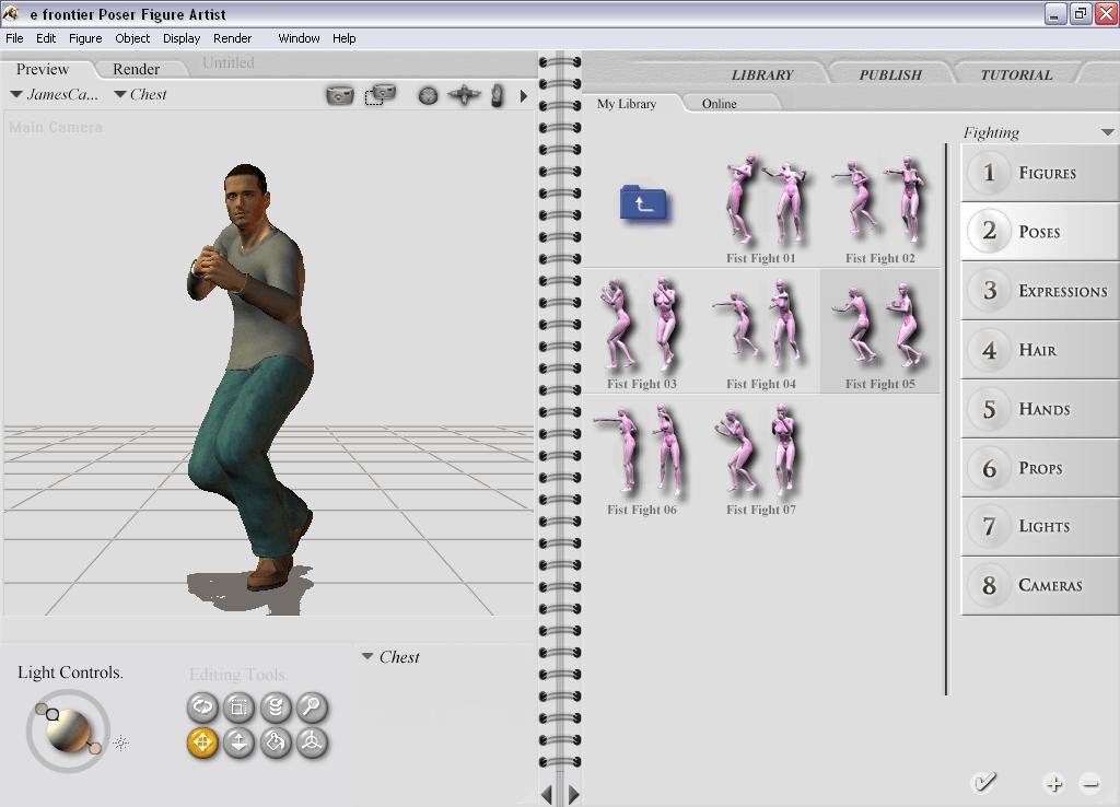 e frontier Poser Figure Artist – Techgage