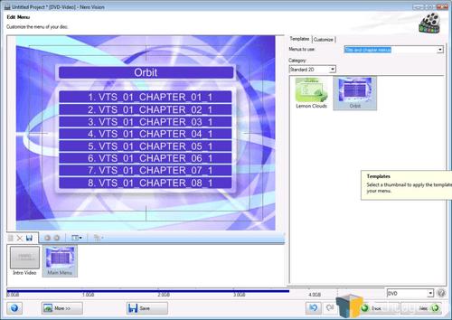 Nero vision smart 3d templates download nero 7.