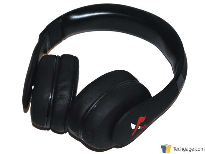 X2 Aurel Noise Cancelling Headphones - Back