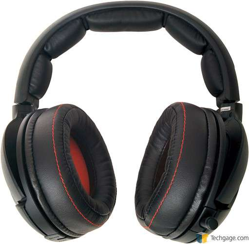 SteelSeries H Wireless Headset - Front View