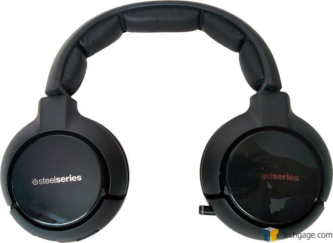 SteelSeries H Wireless Headset - Back View