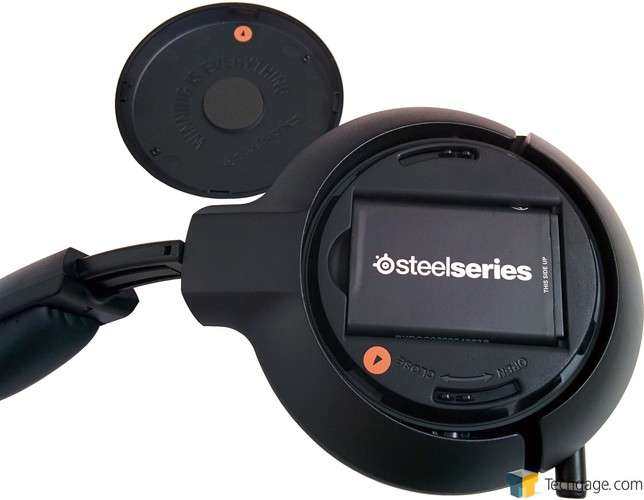 SteelSeries H Wireless Headset - Battery Inside Ear Cup