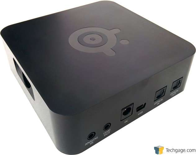 SteelSeries H Wireless Headset - Receiver Back Ports