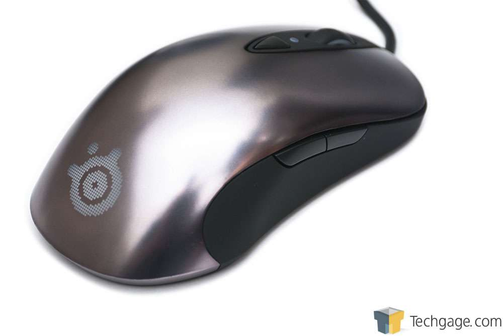 how to clean steelseries sensei mouse