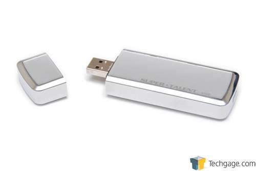 Super Talent 32GB SuperCrypt USB 3.0 Thumb Drive