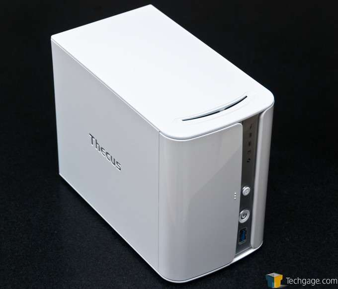 Thecus N2560 Dual-bay NAS - Overview