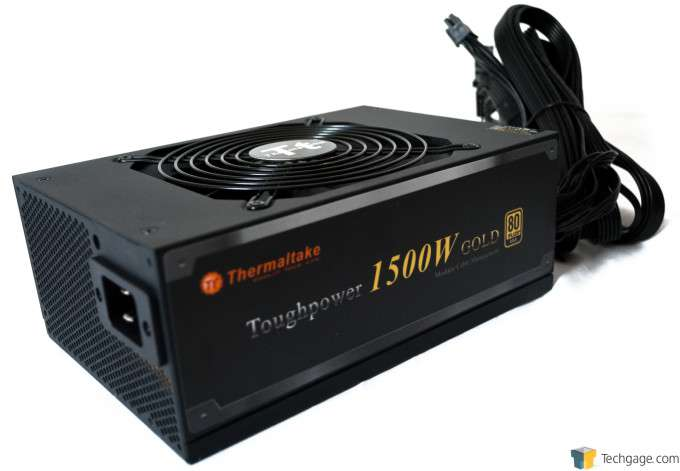 Thermaltake Toughpower 1500W Gold Power Supply - Pageant shot