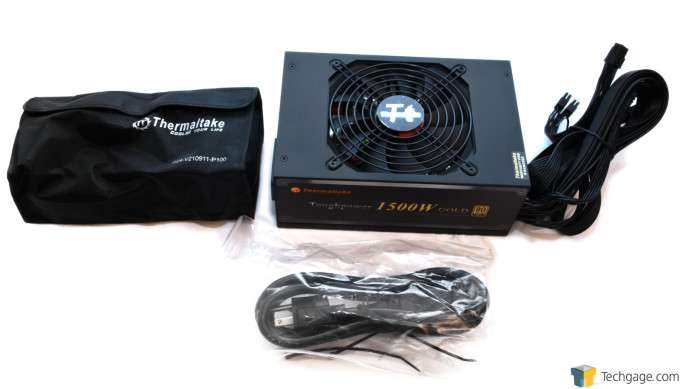 Thermaltake Toughpower 1500W Gold Power Supply - Out Of The Box