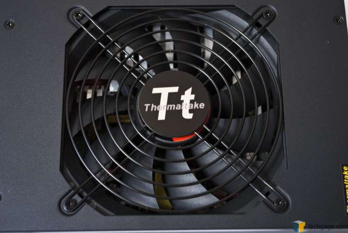 Thermaltake Toughpower 1500W Gold Power Supply - Fan