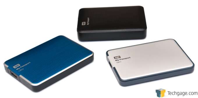 WD MyPassport Slim 1TB - My Passport Drives