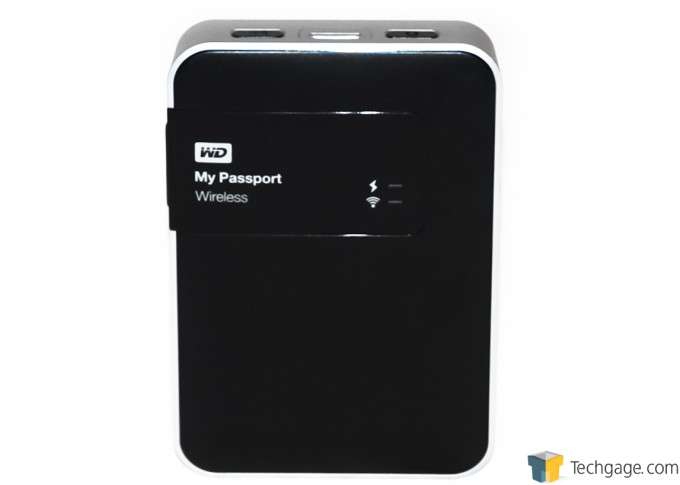 WD My Passport Wireless LEDs