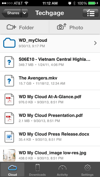 WD My Cloud - Accessing Shares