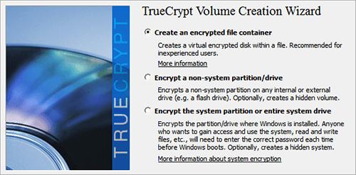 TrueCrypt Volumes