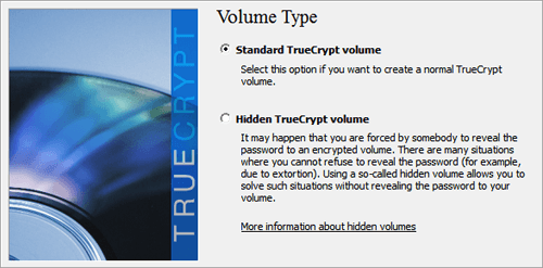 TrueCrypt Hidden Volume