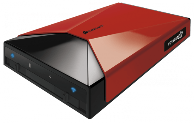 Corsair Voyager Air Red