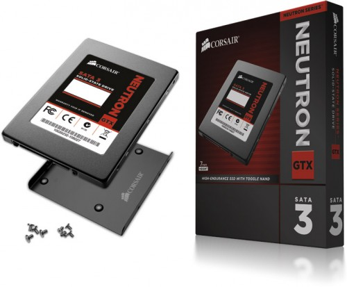 Corsair Neutron GTX 240GB SSD Box Art